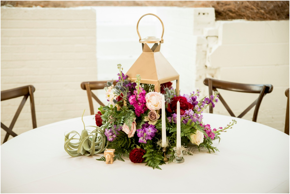 Lantern Floral Centerpiece by Supposey, Photography by Aislinn Kate, Wedding Invitation Design by Grace and Serendipity