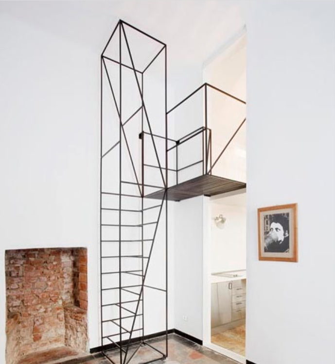 Staircase design by Francesco Librizzi studio  #steellovers  #steelstairs   #steelwork   #architecturelovers  #steeldesign   #steeldesignlovers  #designlovers   #estadosolido