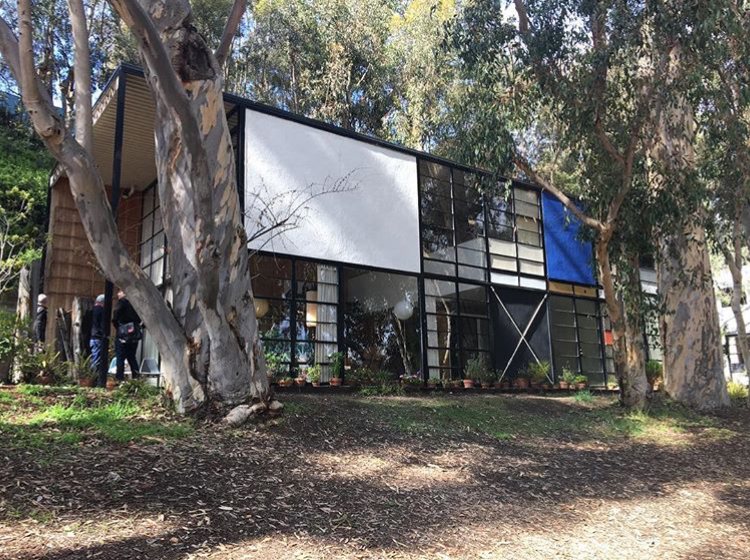 Visit to Eames House in Palisades, CA  #2017   #architecturelovers  #steelhouse   #steellovers   #steelwork  #estadosolido   #steeldesign