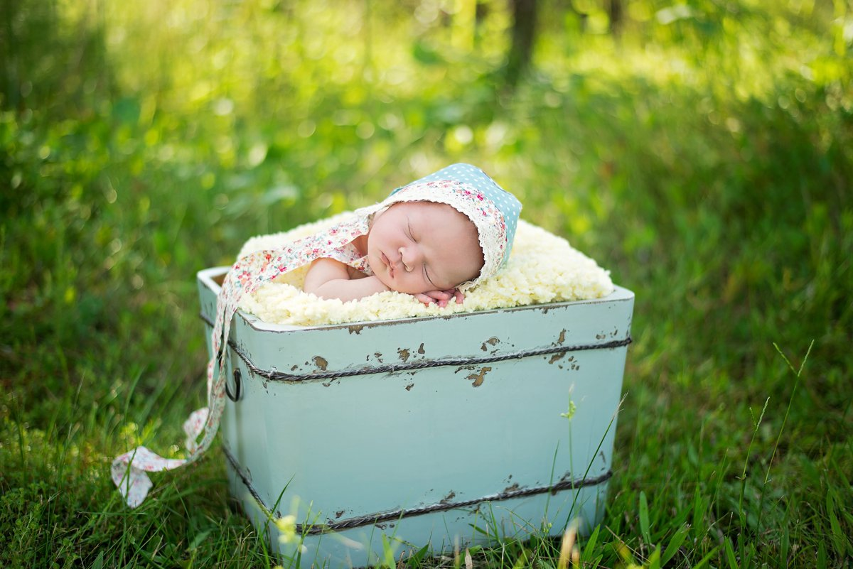 Beach Newborn Photo