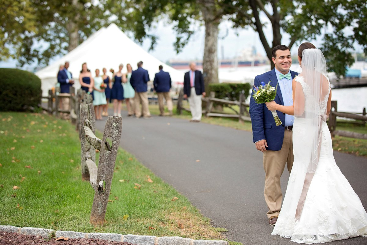 Nautical Theme Wedding Photo