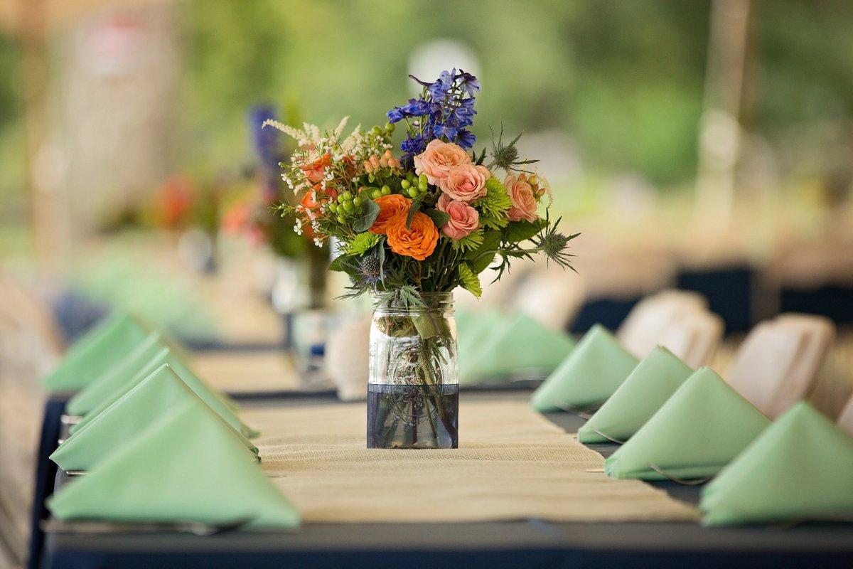 Nautical Theme Wedding Photo