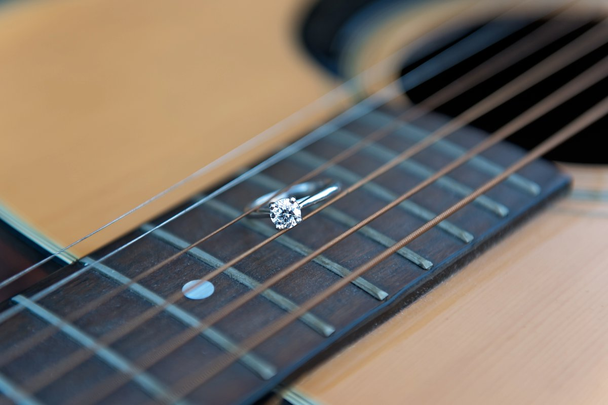 ring on a guitar