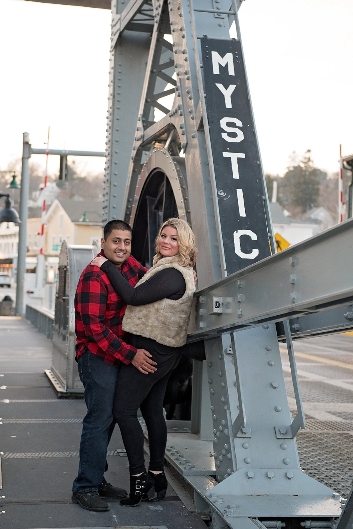 Mystic Draw Bridge couple