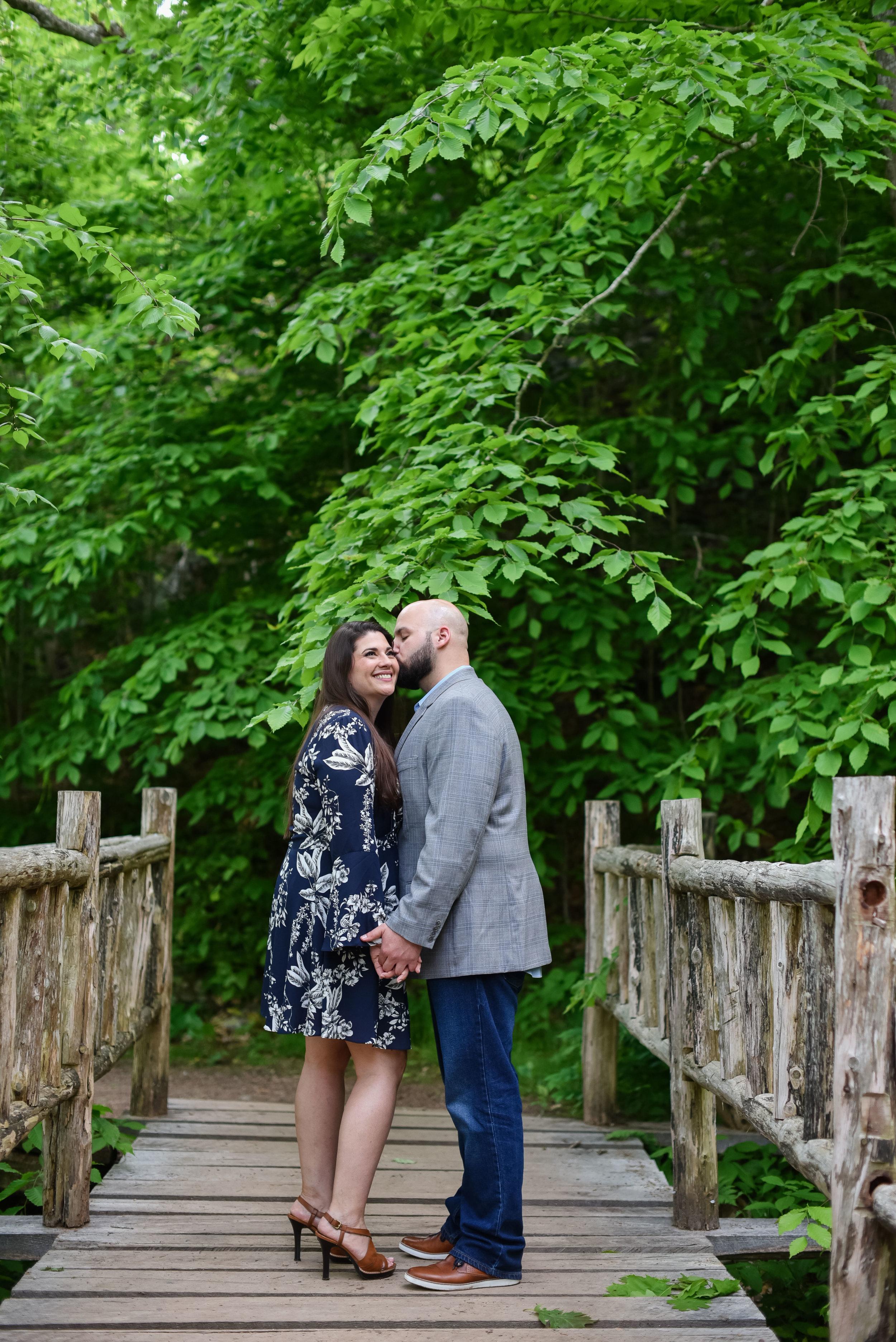 Denison Pequotsepos Nature Center Engagement photos