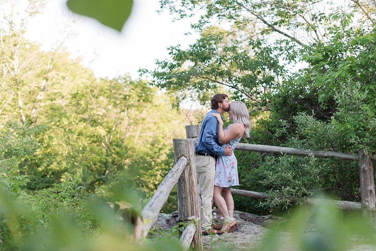 Chapman Falls Engagement Session