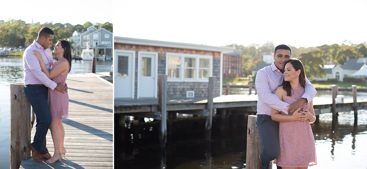 Engagement session in Mystic CT