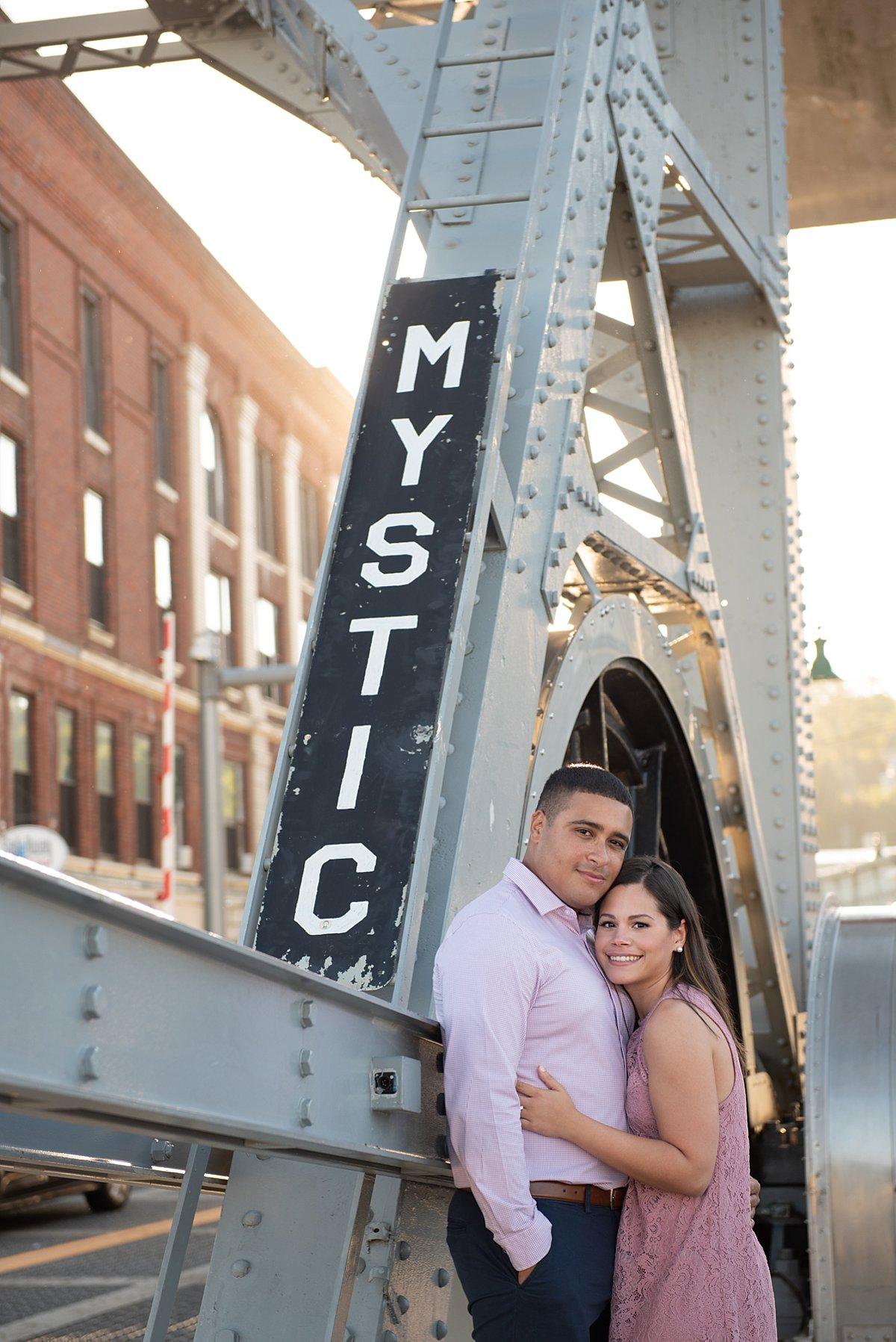 Downtown Mystic draw bridge