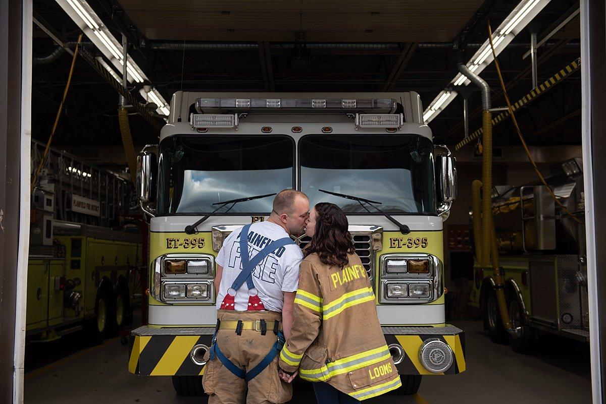 Plainfield fire truck