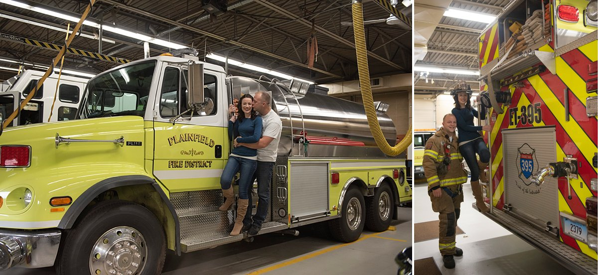 Plainfield Fire station photos