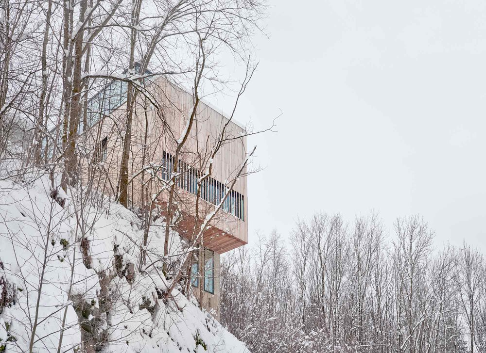 Reiulf Ramstad's Two in One House. Image Credit: Reiulf Ramstad Arkitekter