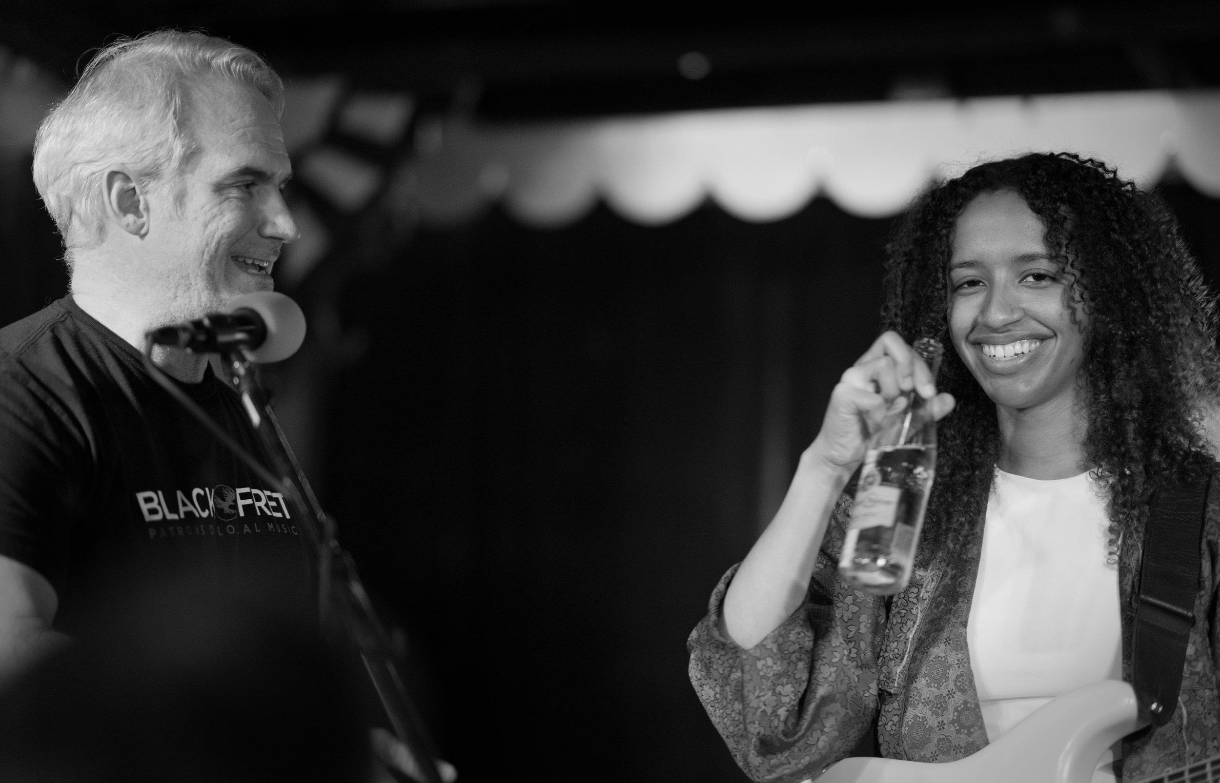 Matthew Ott, Co-founder at Black Fret, Congratulates Jackie Venson