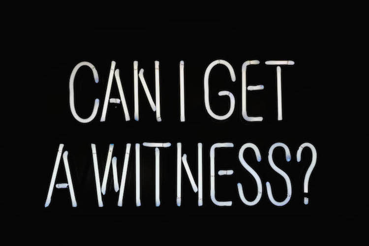 NAFIS M. WHITE | Can I get a witness | 2013