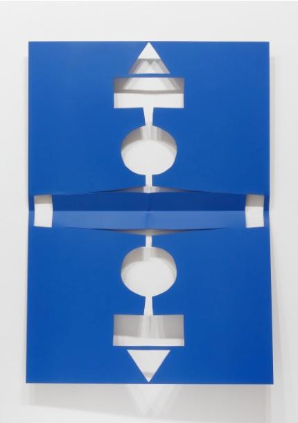 MATT KEEGAN | Cutout (Blue) | 2016