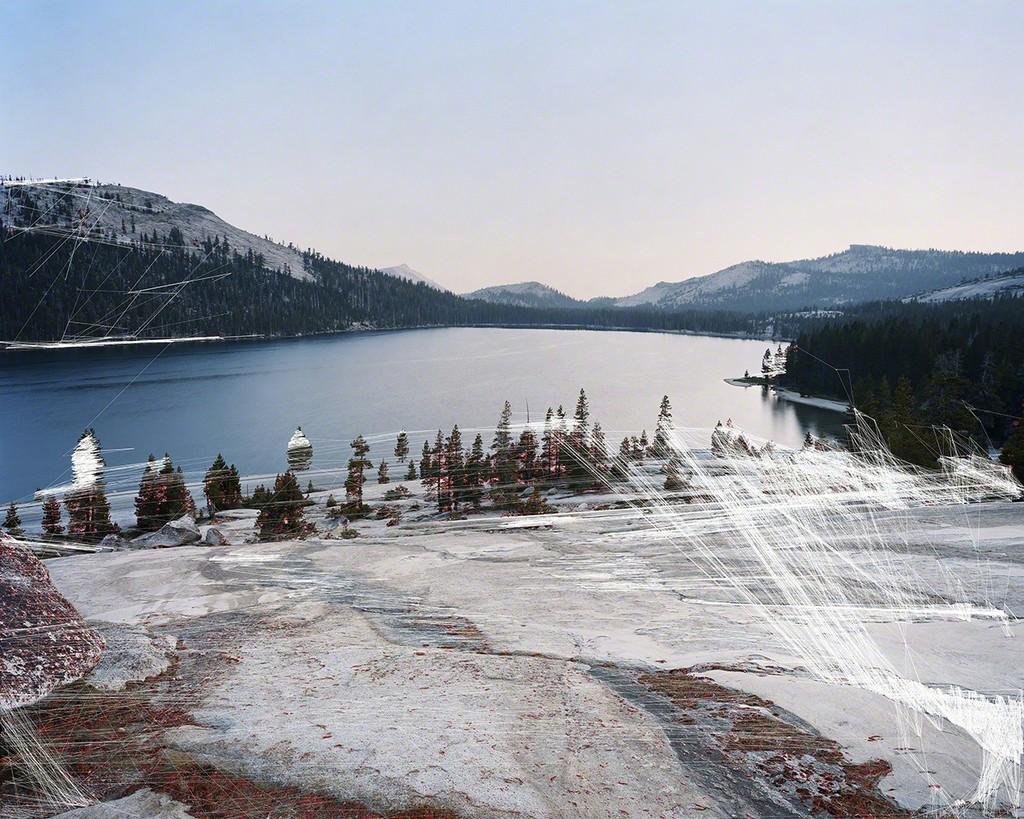 TREVOR PAGLEN | Lake Tenaya Maximally Stable Extremal Regions; Hough Transformation | 2016