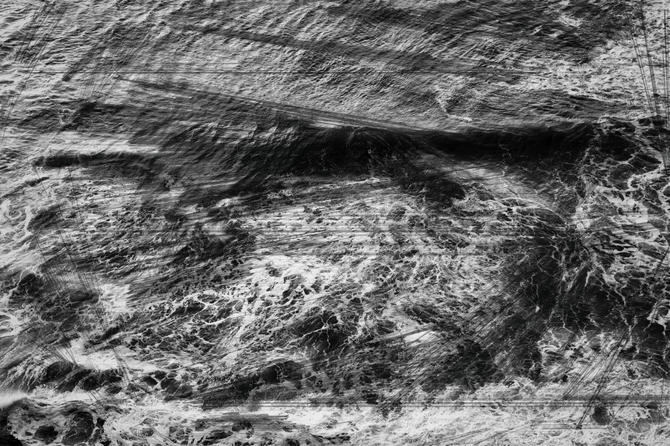 TREVOR PAGLEN | Pacific Ocean I, Hough Transform; Haar | 2018