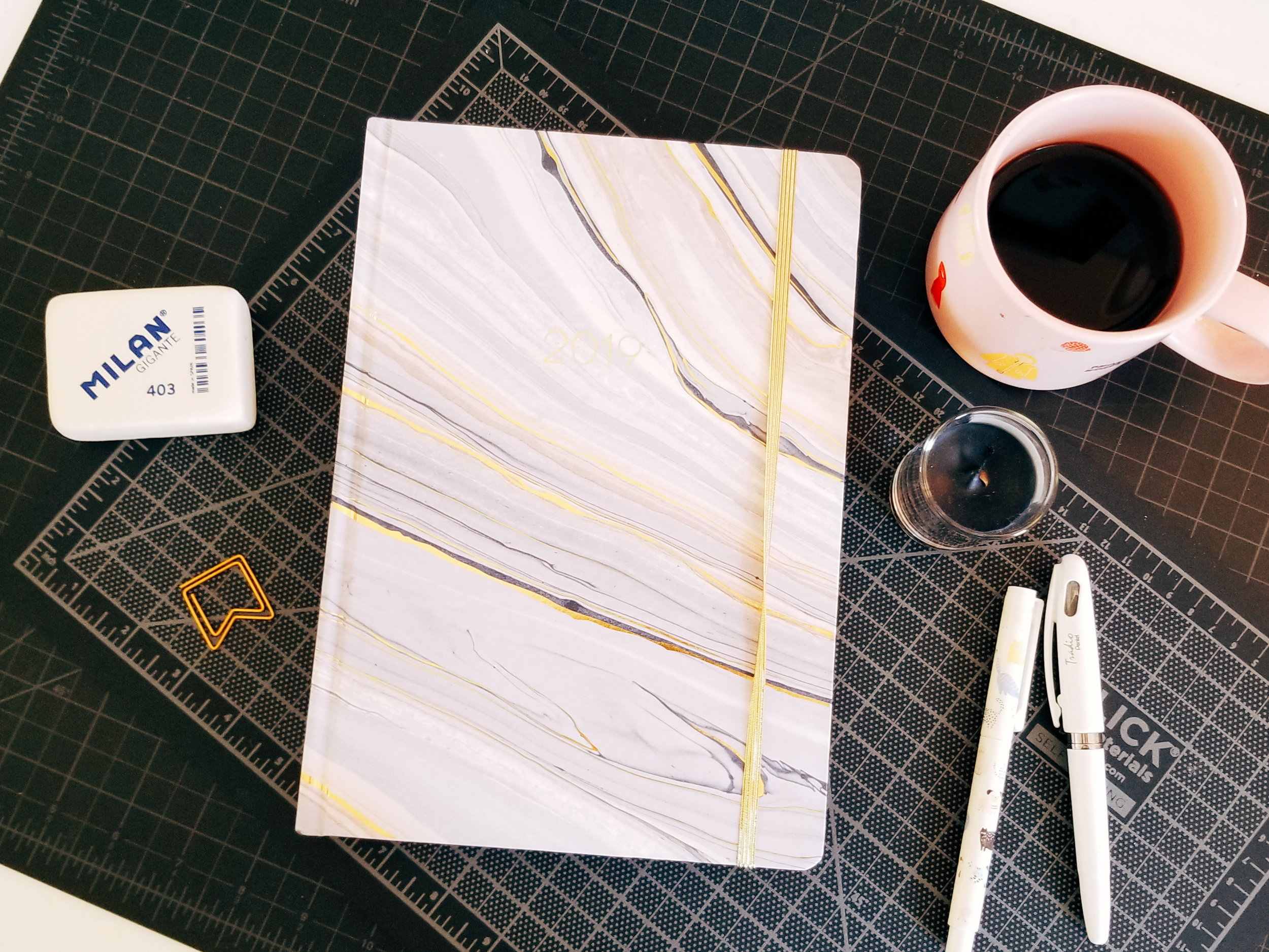 Morning Pages Journal - A desk-sized planner in A4 size that I use as a daily record and to improve my a.m. writing practice.