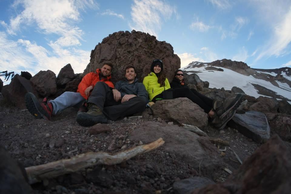The Crew, Cascade Creek, Mt Shasta 2015