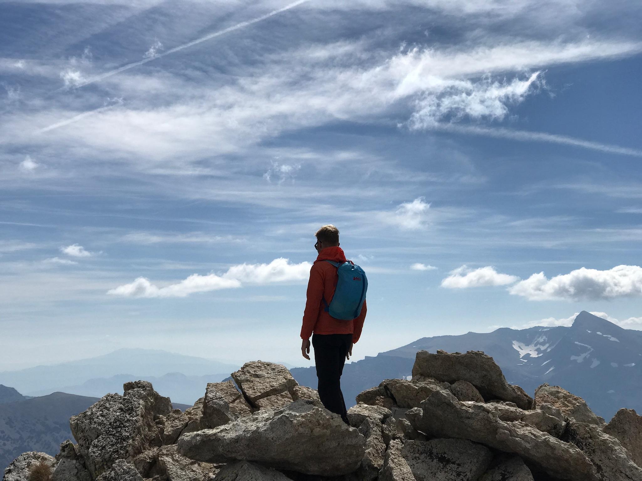 High on North Peak