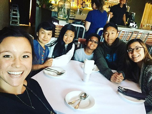 Getting ready to chow down ourselves! #soi4oakland