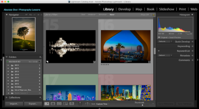 Interface Overview - Get familiar with Adobe's LR interface and learn how each module can contribute to your digital workflow.