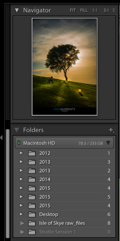 Library & Catalogues - Build your photography library. Lightroom's all powerful feature for setting up your folder structure and working with catalogues. Never lose track of your images from now on.
