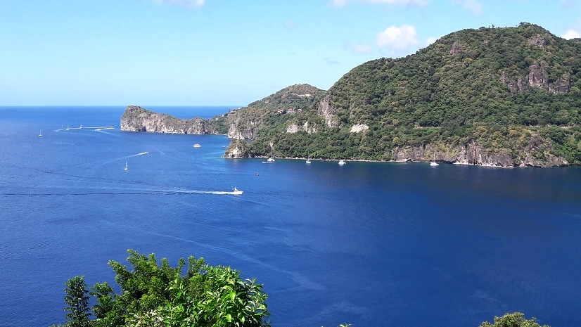 The scenery on the islands was spectacular