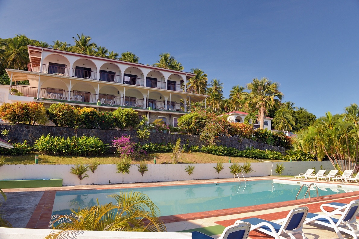 While in St.Lucia we stay at the Foxgrove Inn