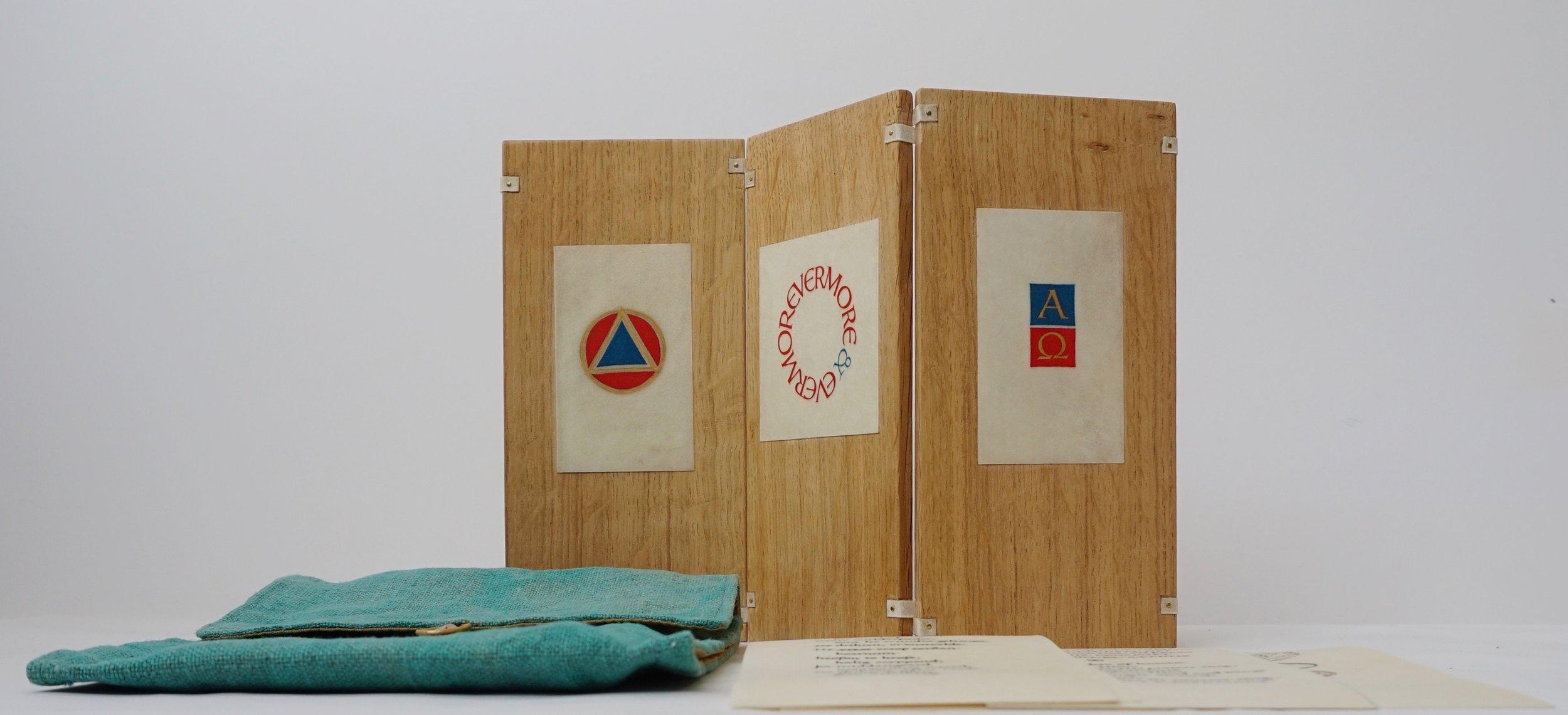 Zig-zag triptych