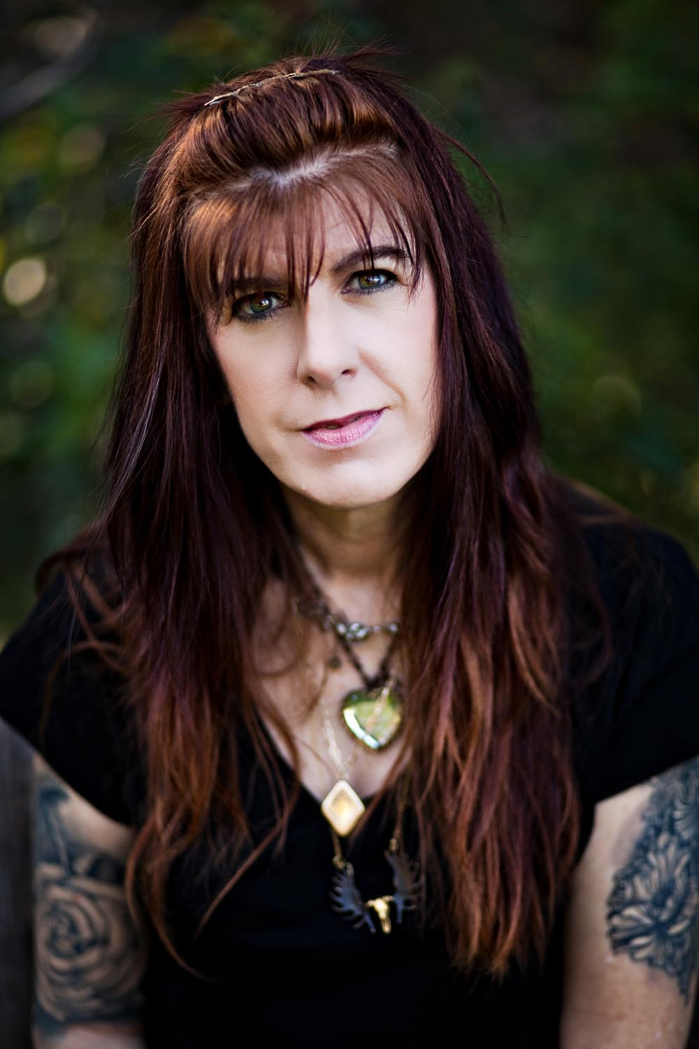 """I met Brenda Hughes in Austin in November 2013. Everything about her struck me, from her eyes, to her tattoos, to her ability to drop Bible quotes like a boss, to her immense, radiating kindness to, of course, her incredible story of resilience.  I stay in touch with about 95% of the people who have been a part of Live Through This. When we meet, we're not just talking about suicide, about how we each fought through our own sea of darkness. That's an entry point, a place of mutual understanding between survivor and artist(/survivor). We talk about life, about what happens after. We laugh. We're fast friends.  Brenda writes these amazing stories on Facebook—little anecdotes about her life. She ends every single one with, """"I love you, I need you,"""" to remind her people that they are worthy, that they are valued, that they are necessary, that they're not alone. Because we all forget sometimes.Sometimes we need a reminder, a spark of light, a nod of understanding, a Brenda.  Dec 5, 2015"""