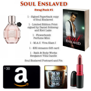 SOUL ENSLAVED Swag pack #1