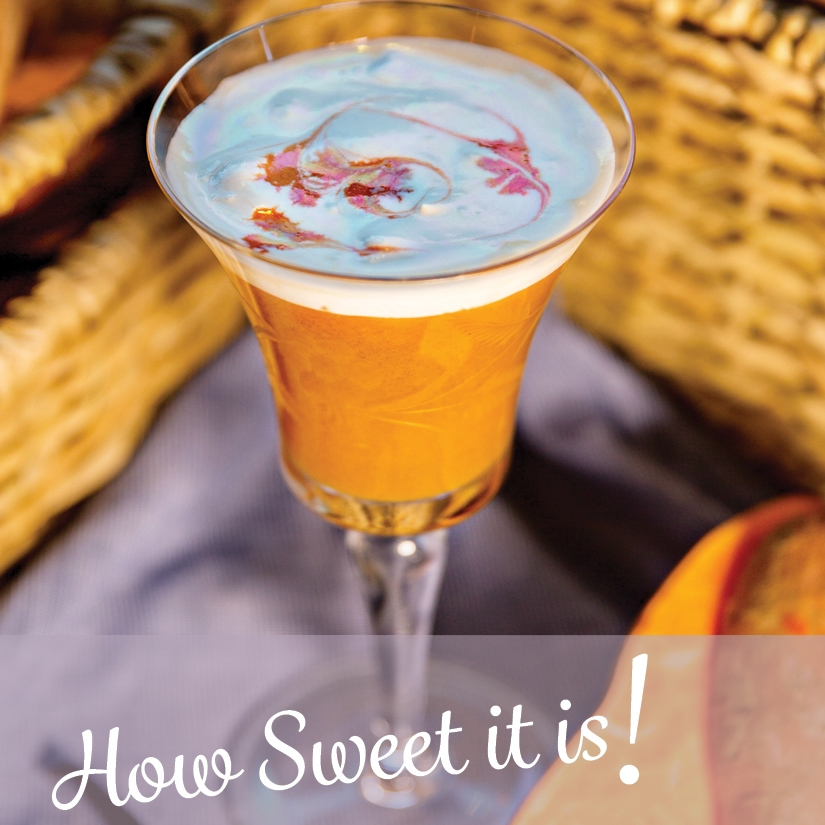 Sweet Potato Cocktail recipe book