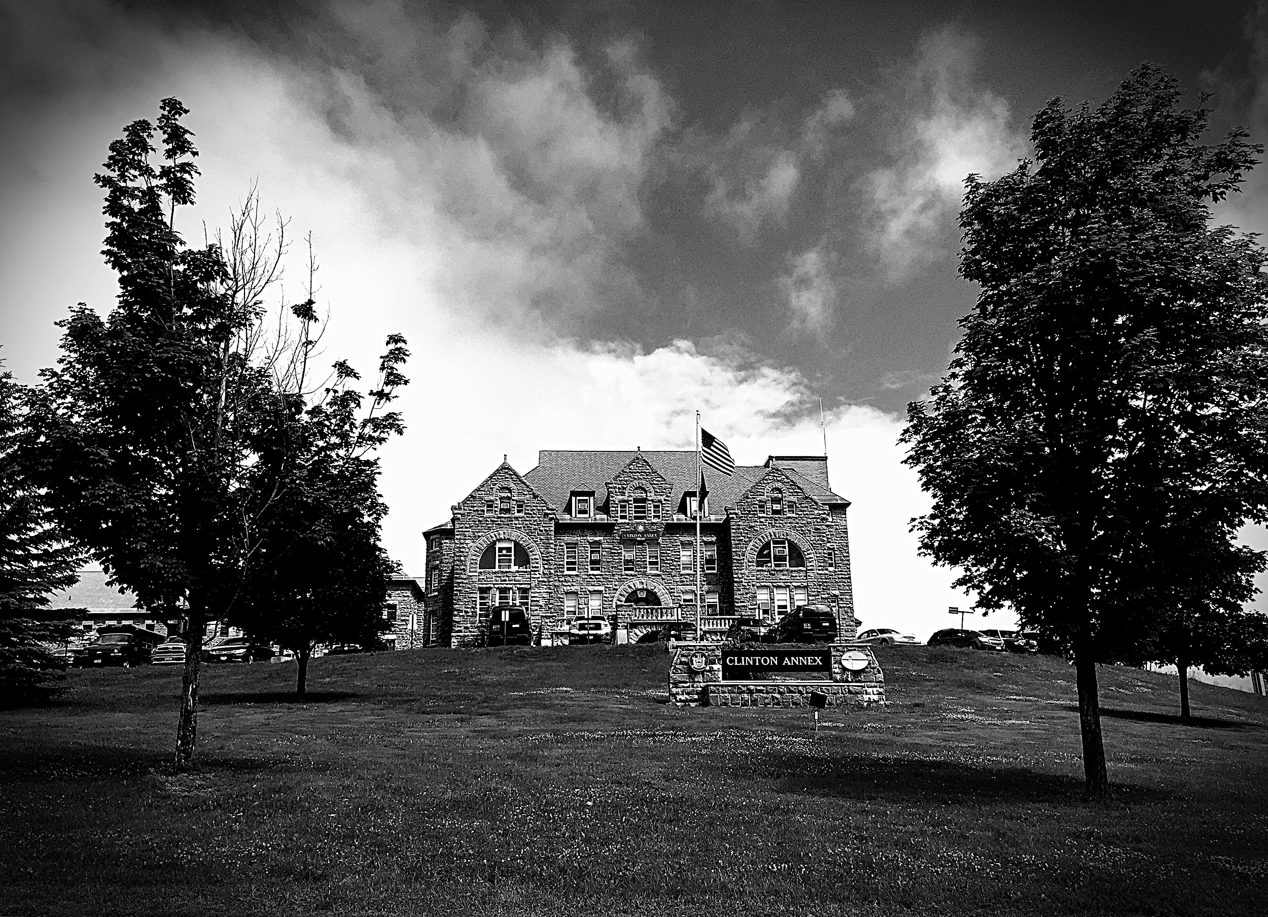 Clinton Annex, which houses the medium security prisoners at Clinton Correctional Facility. (Chelsia Rose Marcius/June 19, 2015)