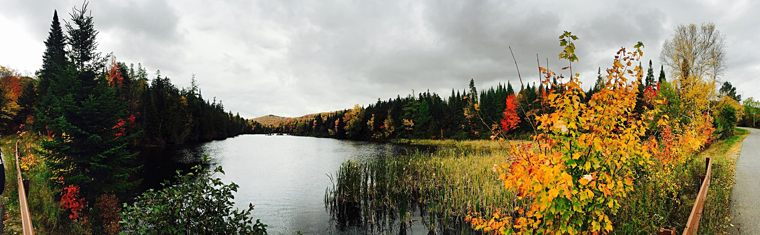 South side of Mountain View Lake in Malone, N.Y.  (Chelsia Rose Marcius/Oct. 9, 2016)