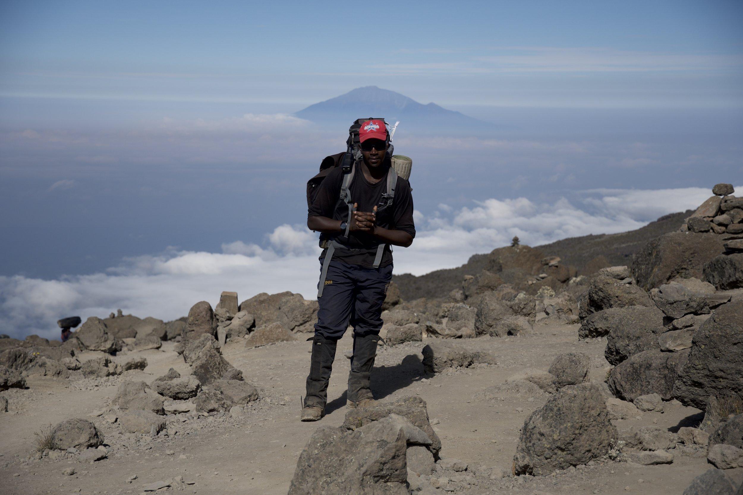 Day 7 / View of Mount Meru