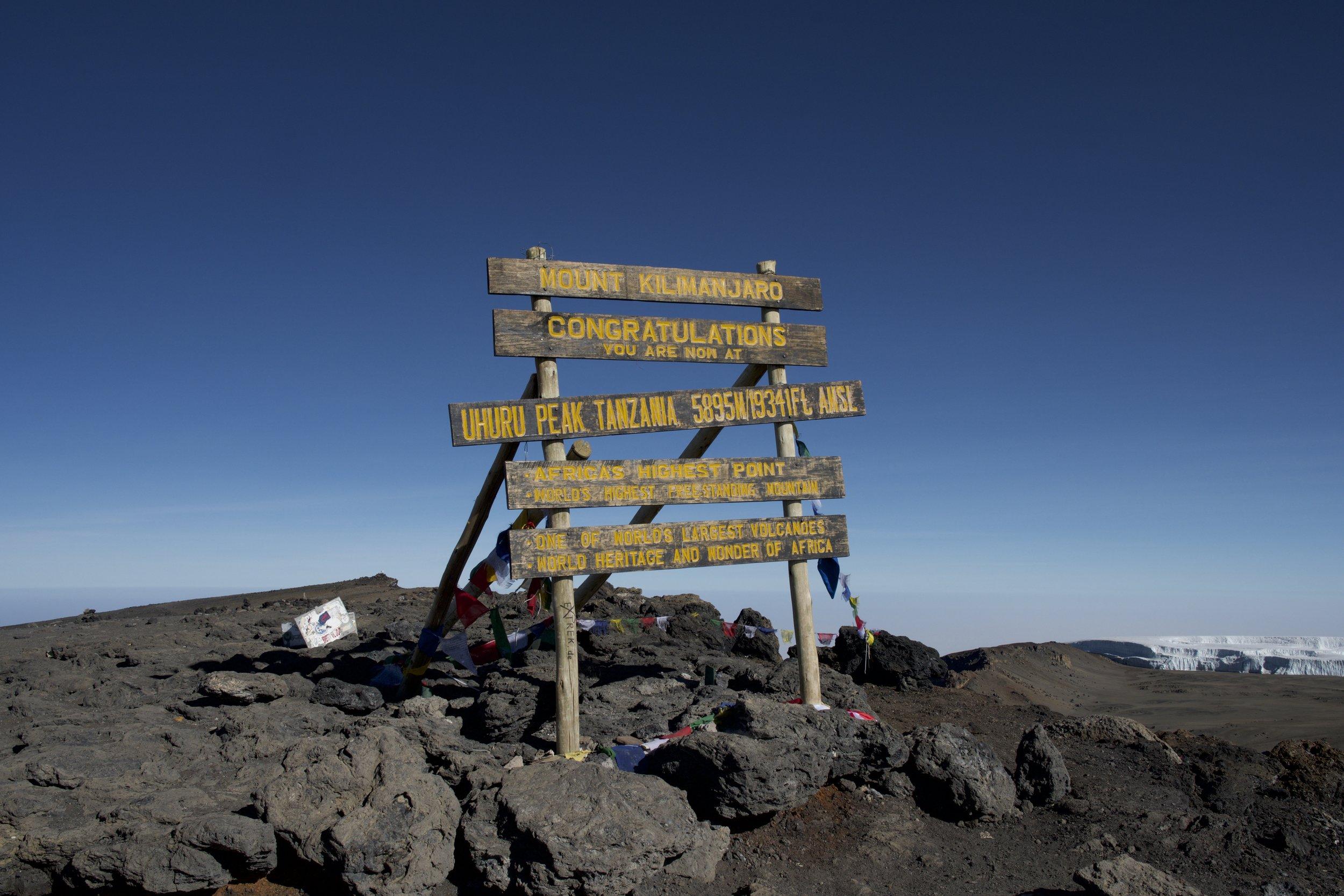 Day 8 / Uhuru Peak