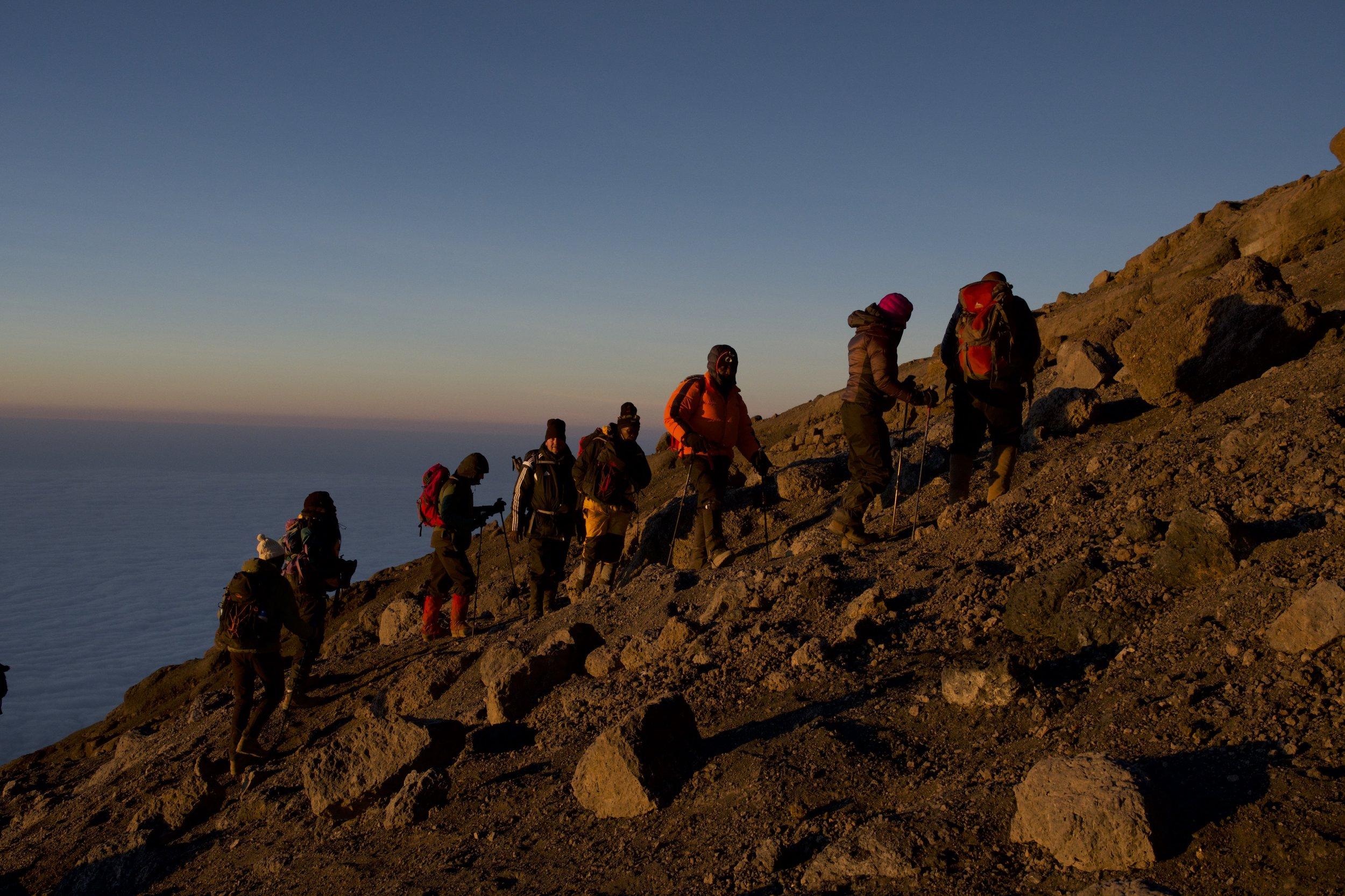 Day 7 / Summit Day