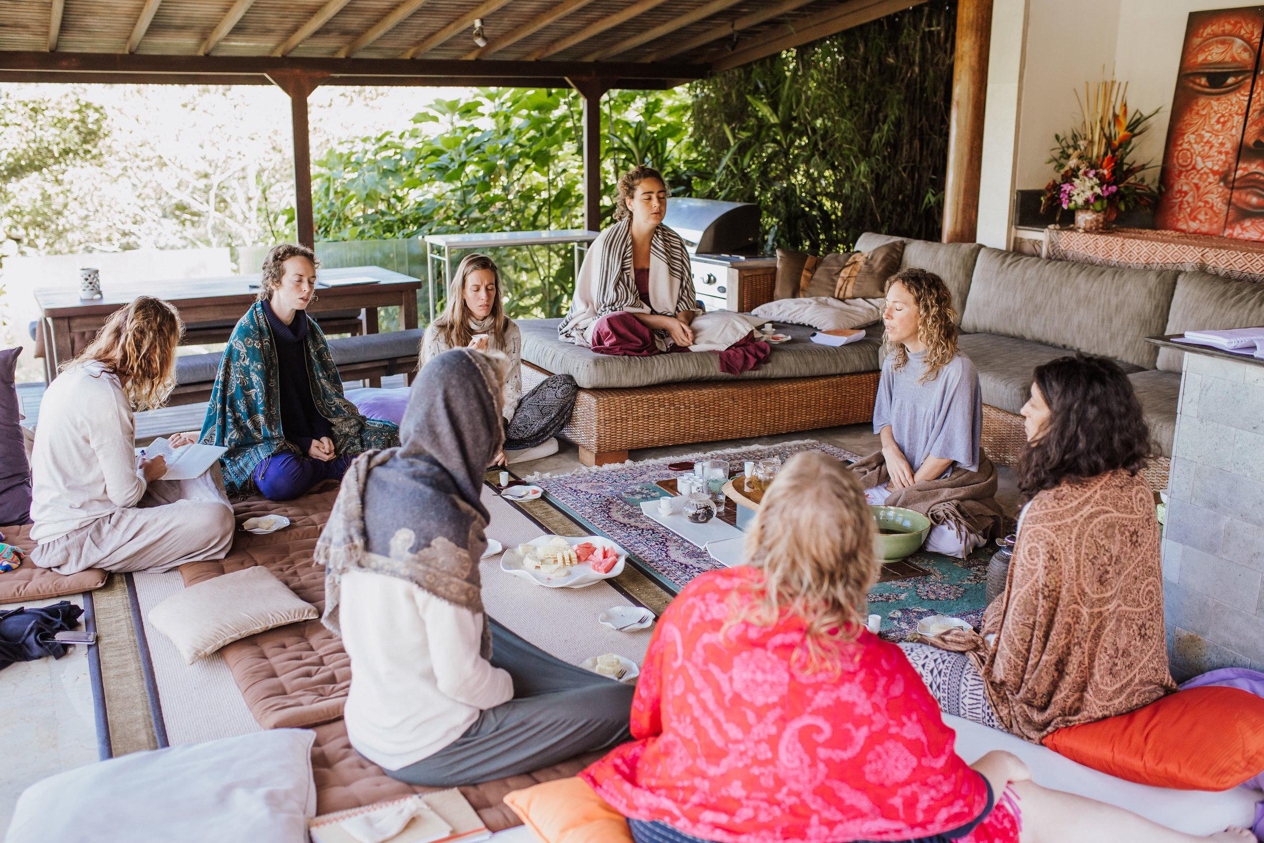 Wild Lotus Retreat, Tuscany 2018