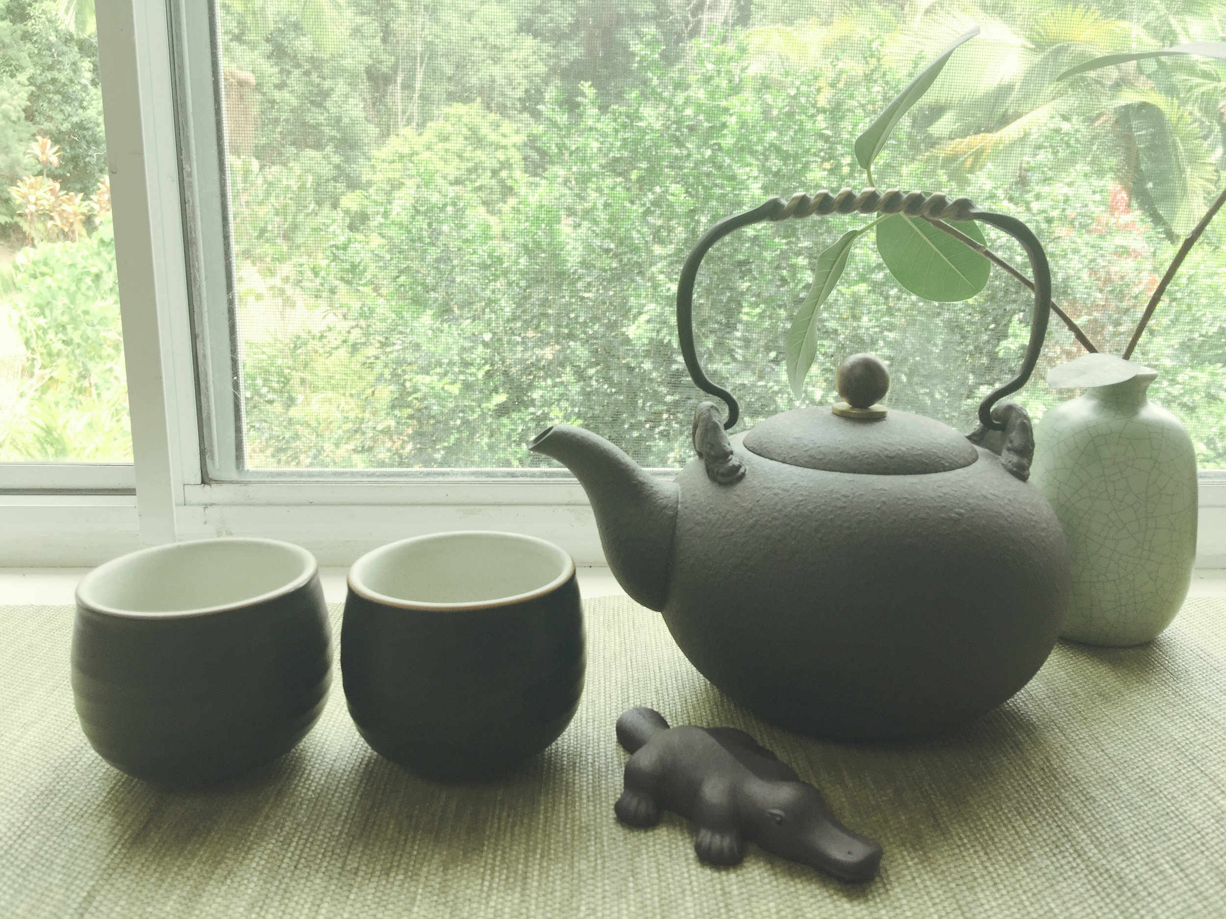 Black clay kettle with cast iron handle.jpg