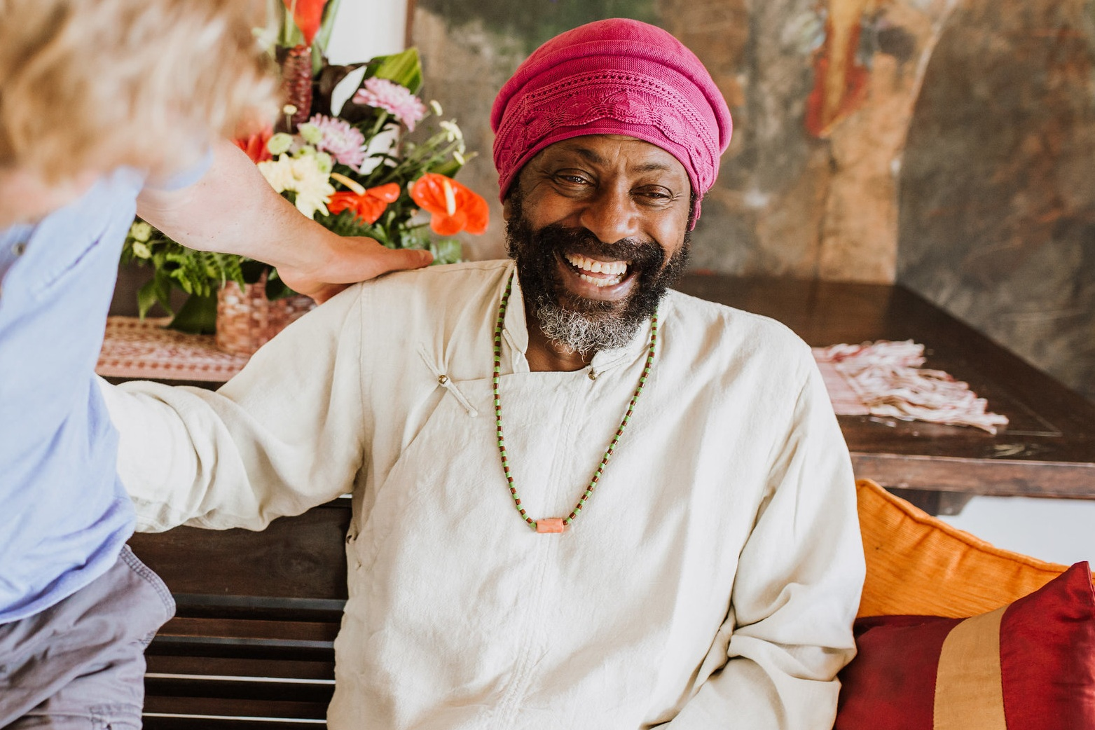 Due to Nityam's Retirement, The live in Retreat with Iya is the most direct and supported way to gain access to the teachings and spiritual guidance, other than a one to one online sessions.   During the 5 days there will be a live video link up discourses with Baba that greatly contributes to the overall transformative journey, whilst still maintaining integrity in the 'sacred women's business' environment. This process being highly effective and provides proven lasting solutions to the difficulties that most women are rassling and tussling with on a day to day basis.  Now we have this precious opportunity to create the foundation to live a life driven by loving support from both Iya's & Baba dedication to thriving in times of great adversity. This is a fundamental journey for every women.