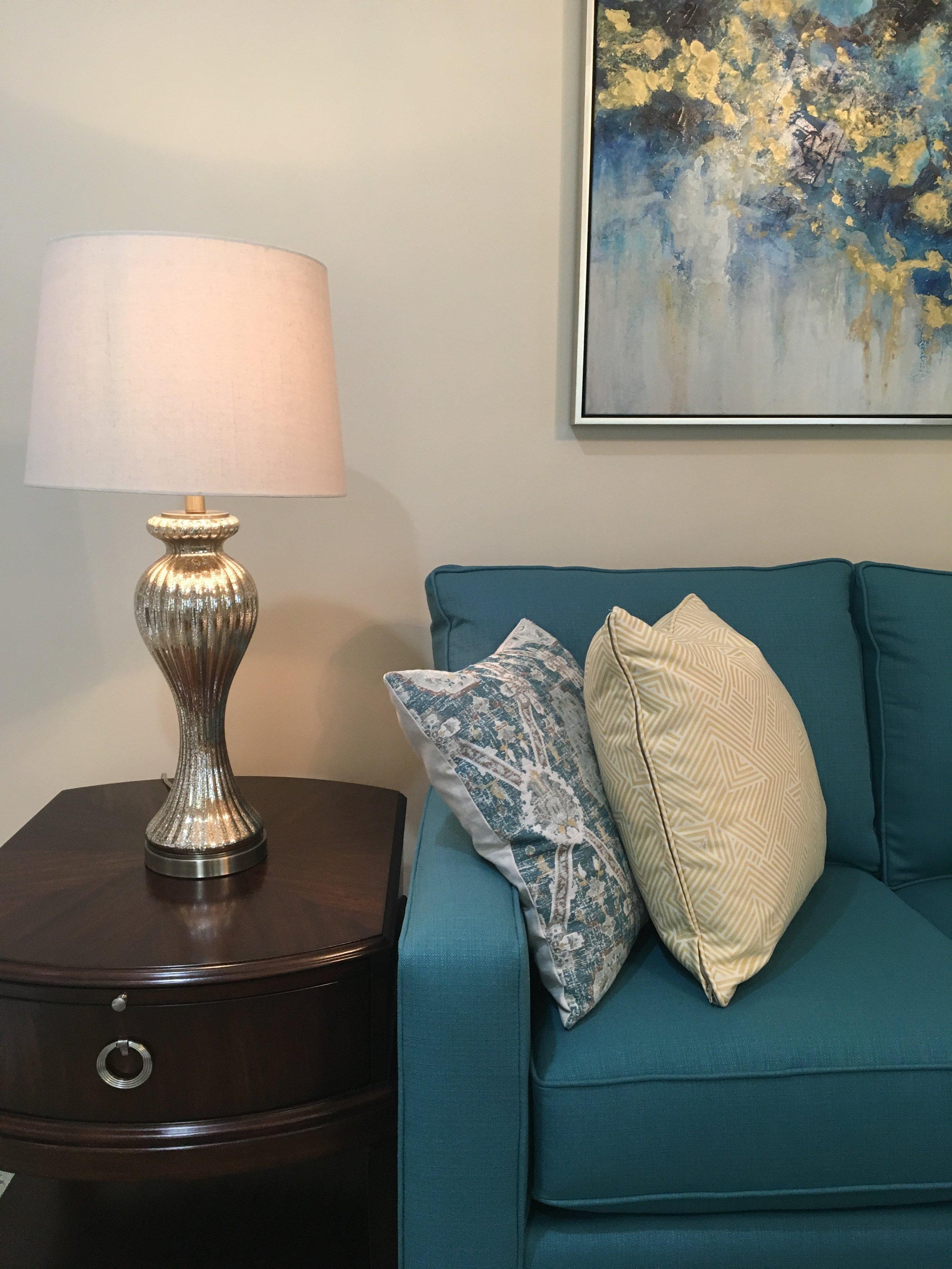 teal sofa bassett furniture.JPG