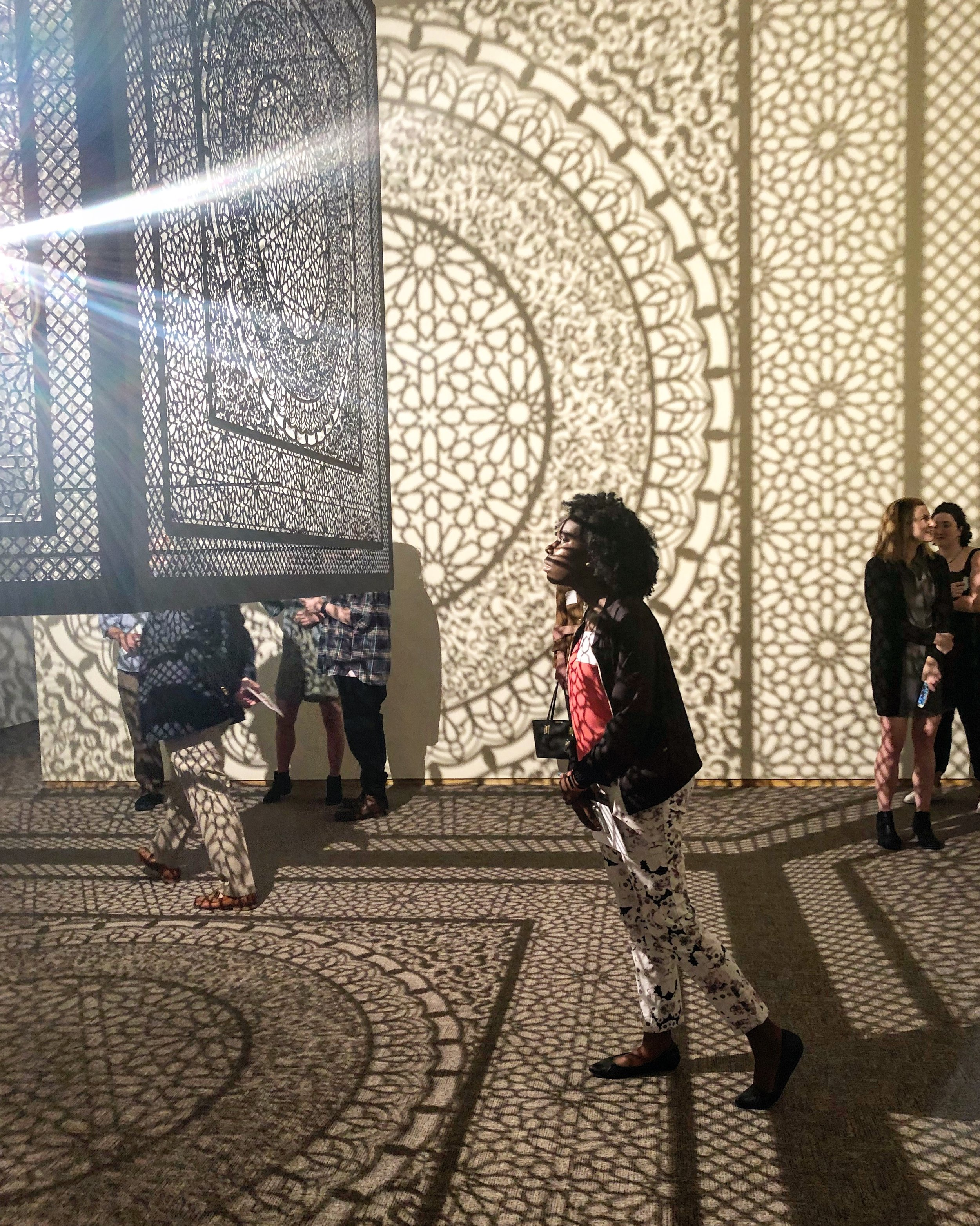 Another Favorite of mine: Anila Quayyum Agha, Intersections, 2013