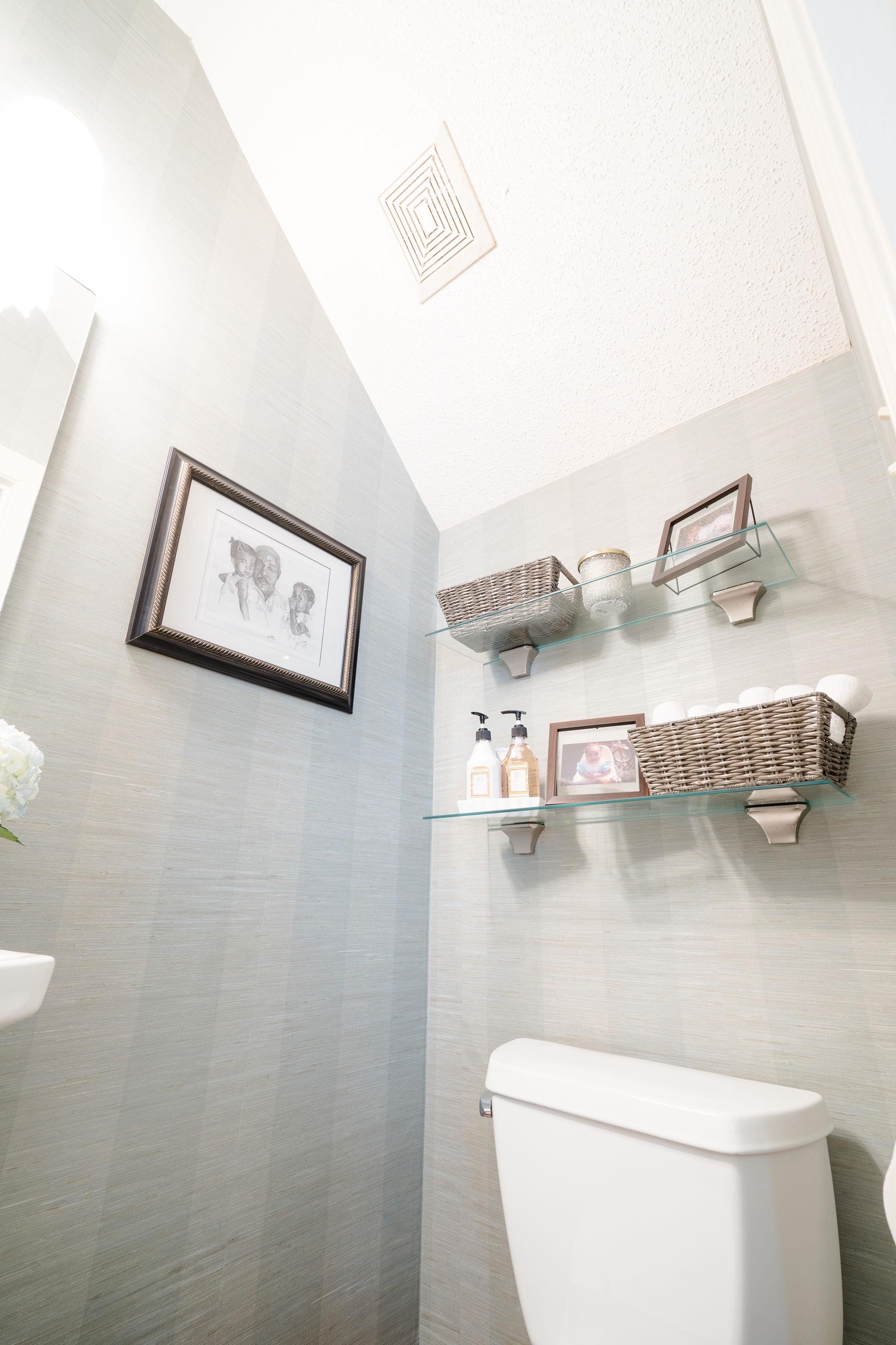 Niki McNeill Raleigh NC Interior Designer SingleBubblePop Design Studio Bathroom Renovation Remodel Refresh Pfister faucets22.jpg