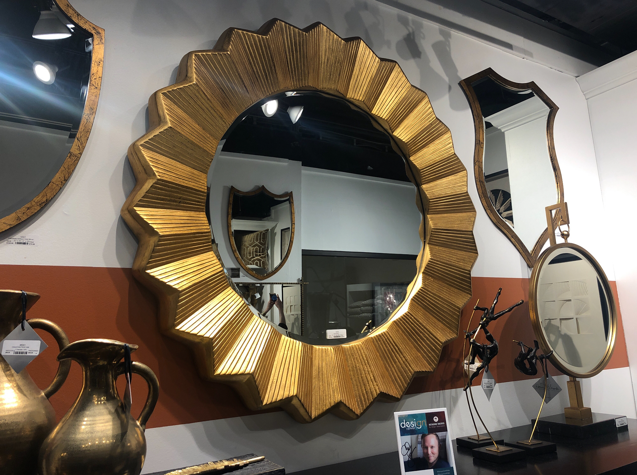 The mirror collection at Howard Elliott stole my heart. I'll take one of each please!