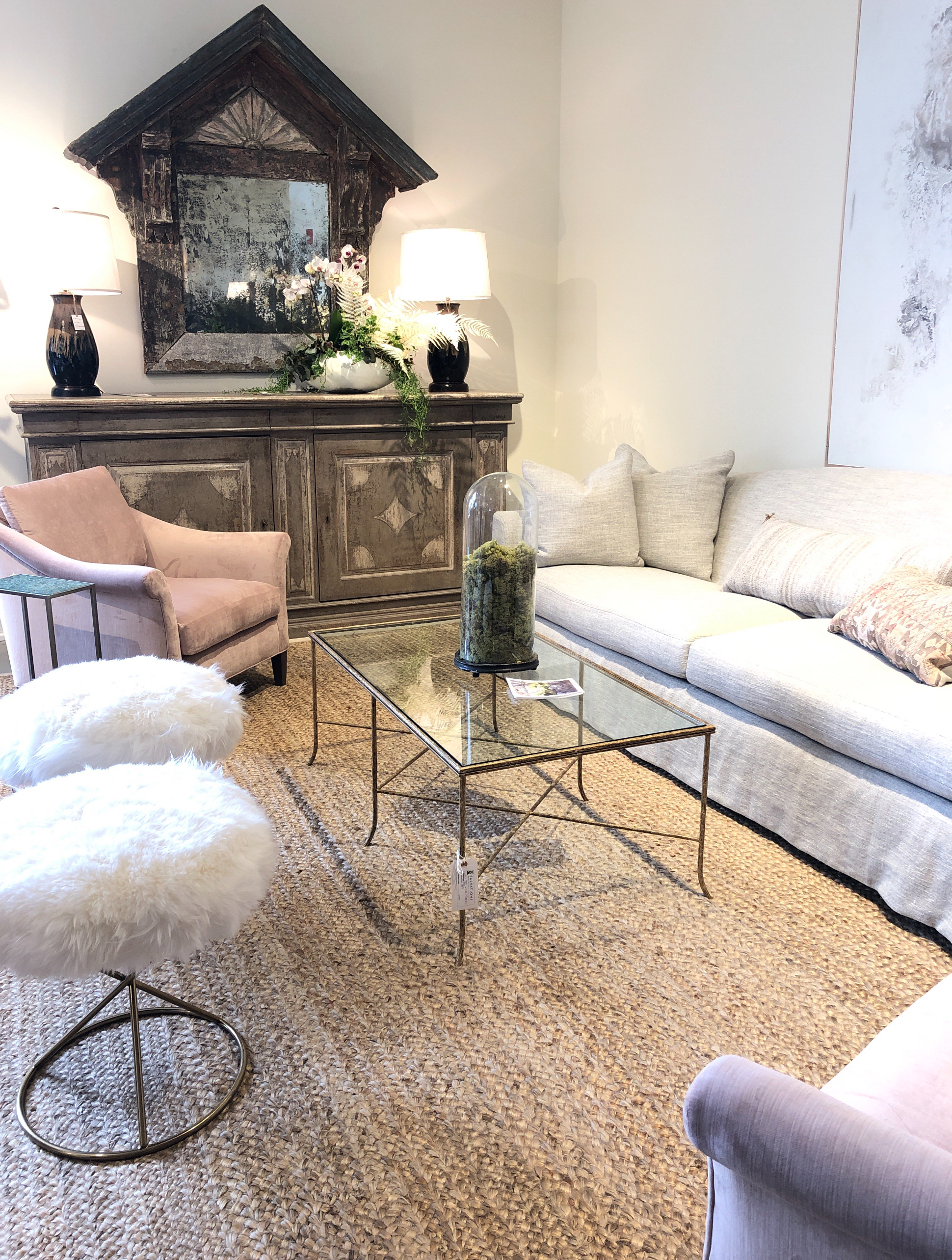 Lee Industries does such a great job at making casual luxurious. Natural elements styled in a contemporary way.