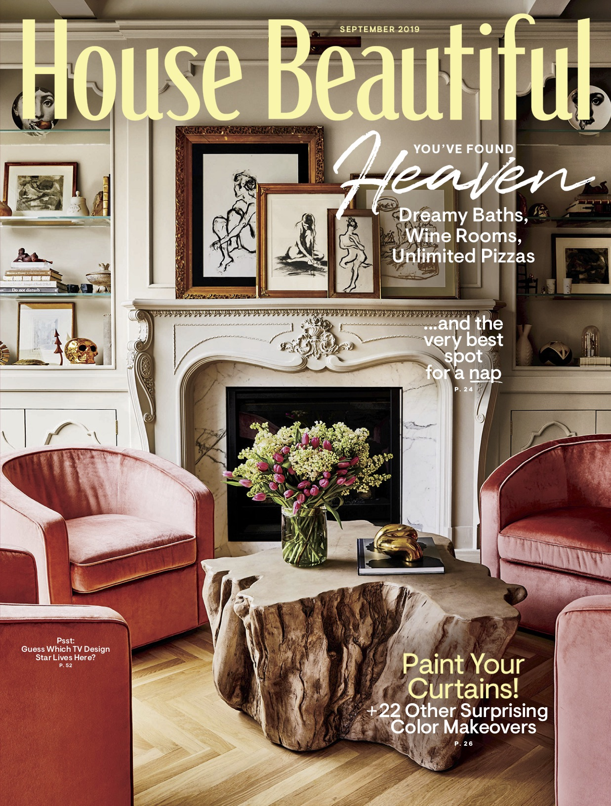 house beautiful magazine SEPTEMBER 2019 issue