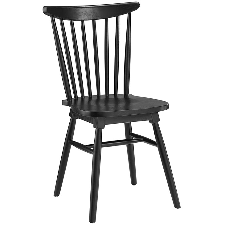 safavieh country classic black dining chair wood