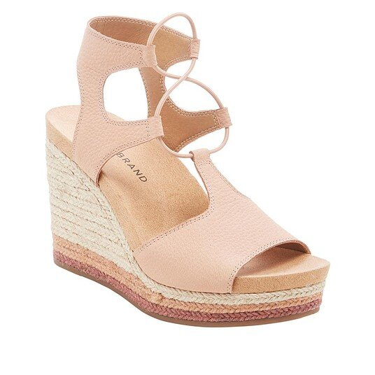 wedge espadrille high heel sandal lucky brand