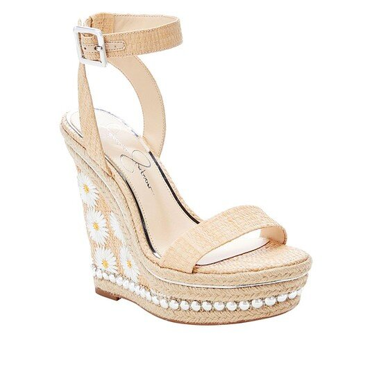 jessica simpson wedget espadrille womens high heel sandal