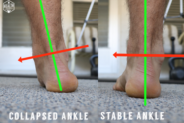 Collapsed Ankles - Biggest Squat mistake by Health Alchemist